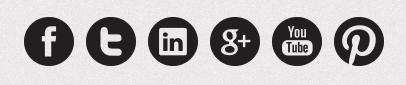 iconos redes sociales blanco y negro 4